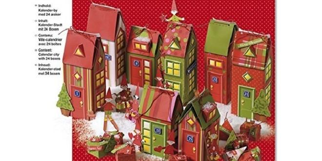 adventskalender basteln weihnachts city. Black Bedroom Furniture Sets. Home Design Ideas