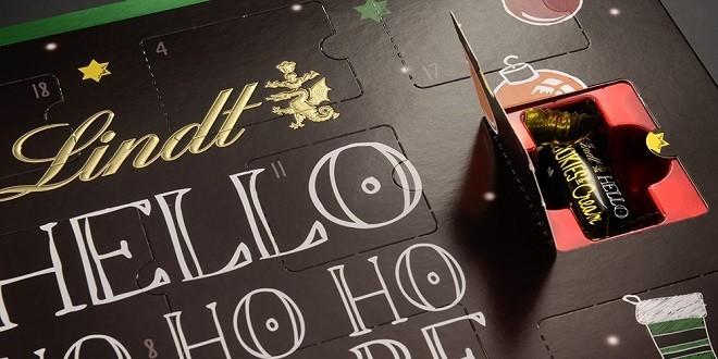 lindt adventskalender weihnachts city. Black Bedroom Furniture Sets. Home Design Ideas