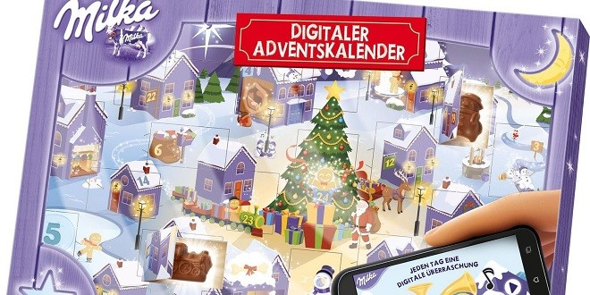 milka digitaler adventskalender weihnachts city. Black Bedroom Furniture Sets. Home Design Ideas