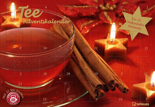 Teekanne Adventskalender 1