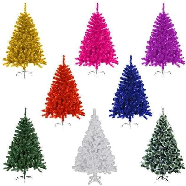 Weißer künstlicher Weihnachtsbaum › Weihnachts City