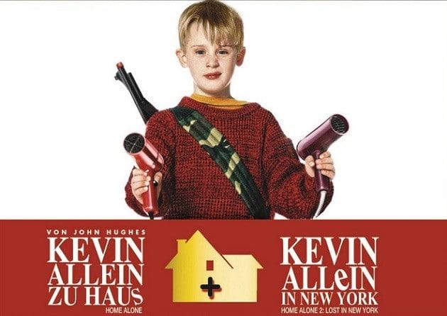 Kevin allein in New York