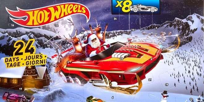 Weihnachtskalender Hot Wheels.Hot Wheels Adventskalender Weihnachts City