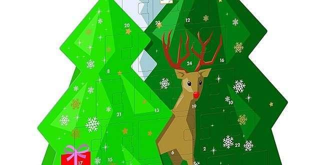 Ritter Sport Adventskalender Weihnachts City