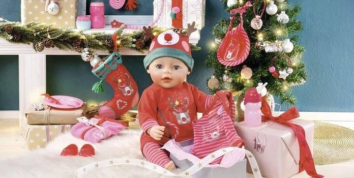 baby born adventskalender weihnachts city. Black Bedroom Furniture Sets. Home Design Ideas