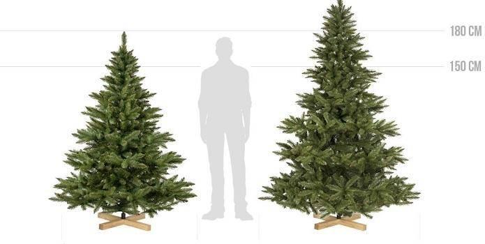 Weihnachtsbaum Künstlich Nordmanntanne.Fairytrees Weihnachtsbaum Künstliche Nordmanntanne Weihnachts City