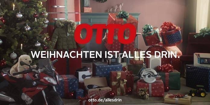 Otto Weihnachtsbeleuchtung.Otto Weihnachten Ist Alles Drin Weihnachtswerbung 2018